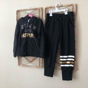 Girls 2 piece activewear